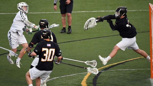 Strong efforts up the middle fuel upset bid by Towson men's lacrosse