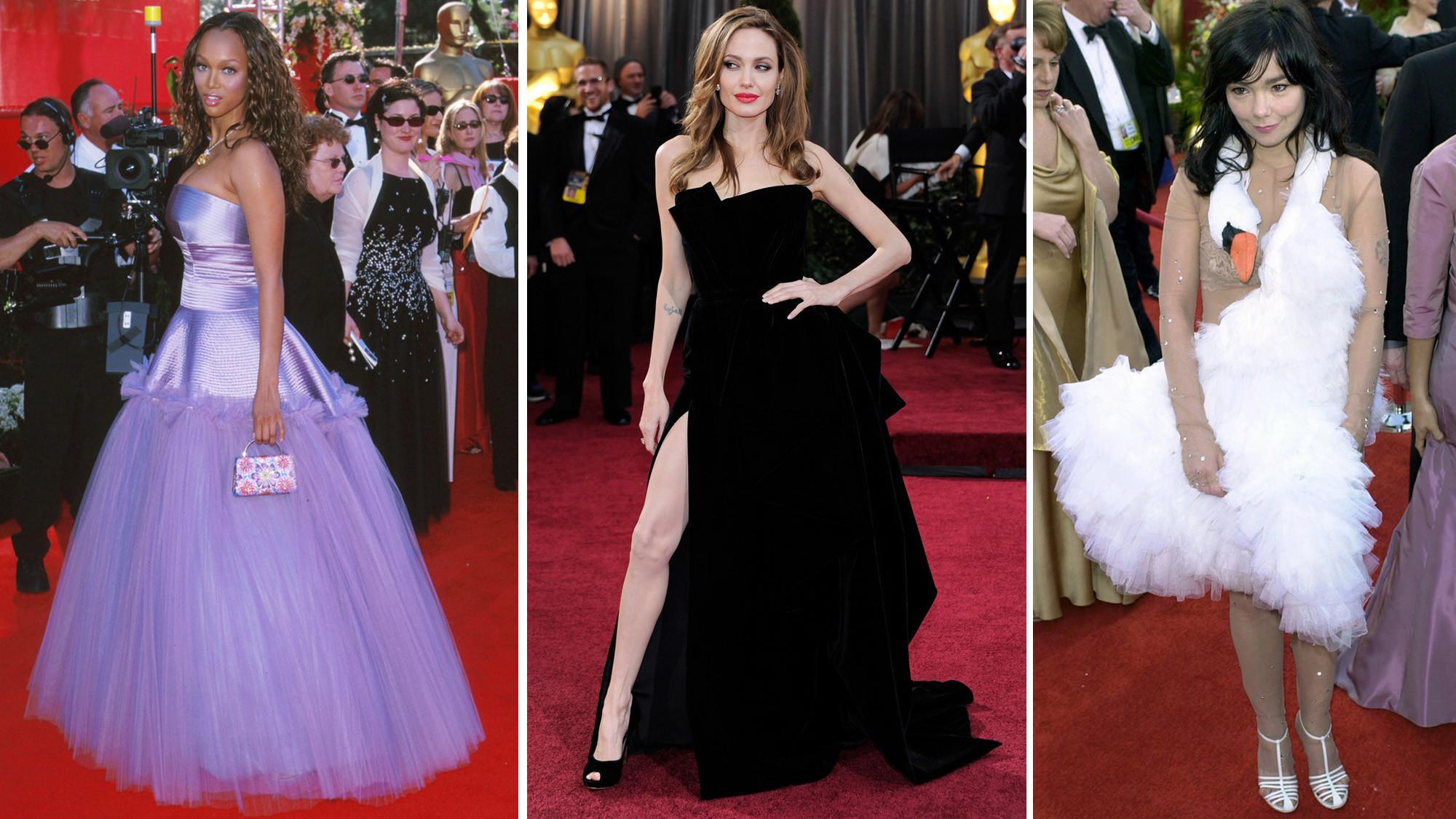 Oscar Fashion Reviews  Worst