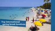Top 9 International spring break locales