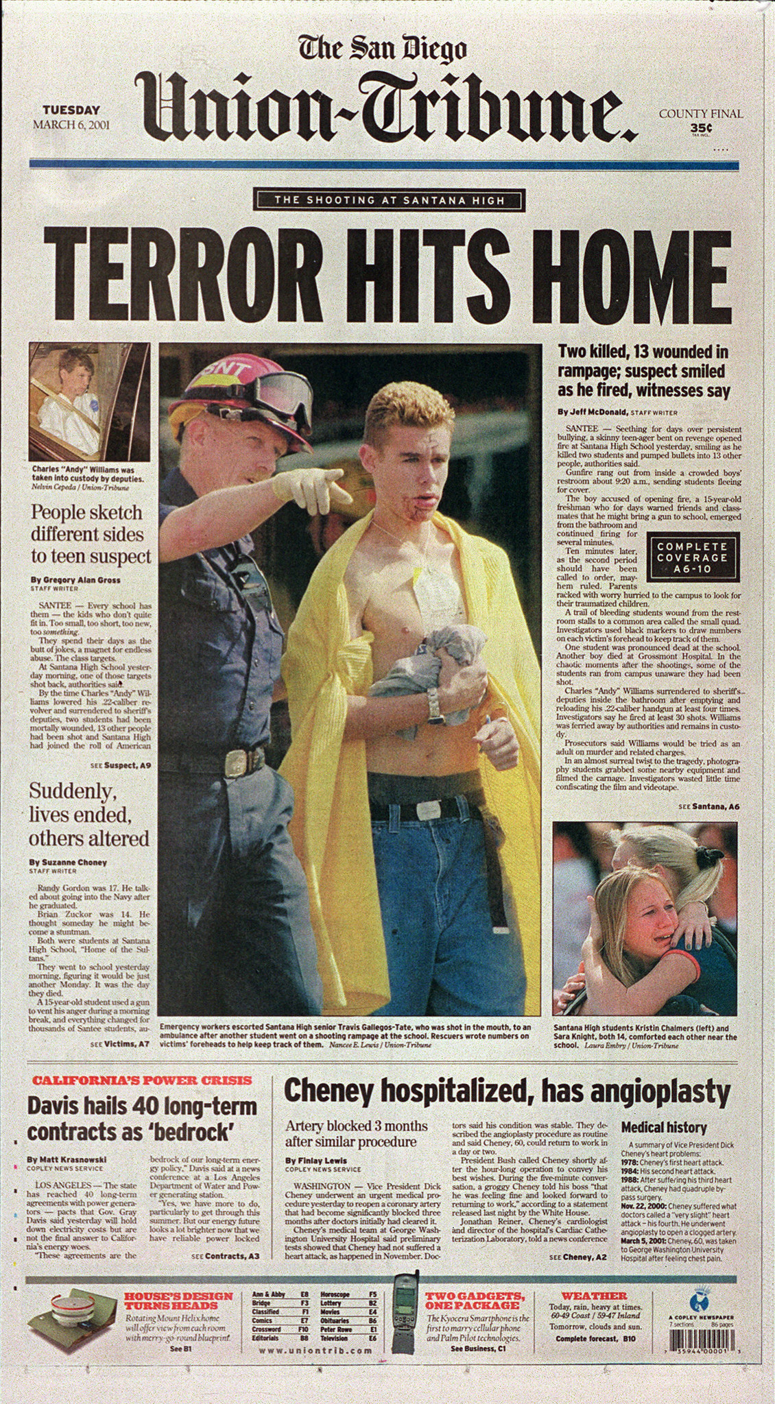 March 6, 2001