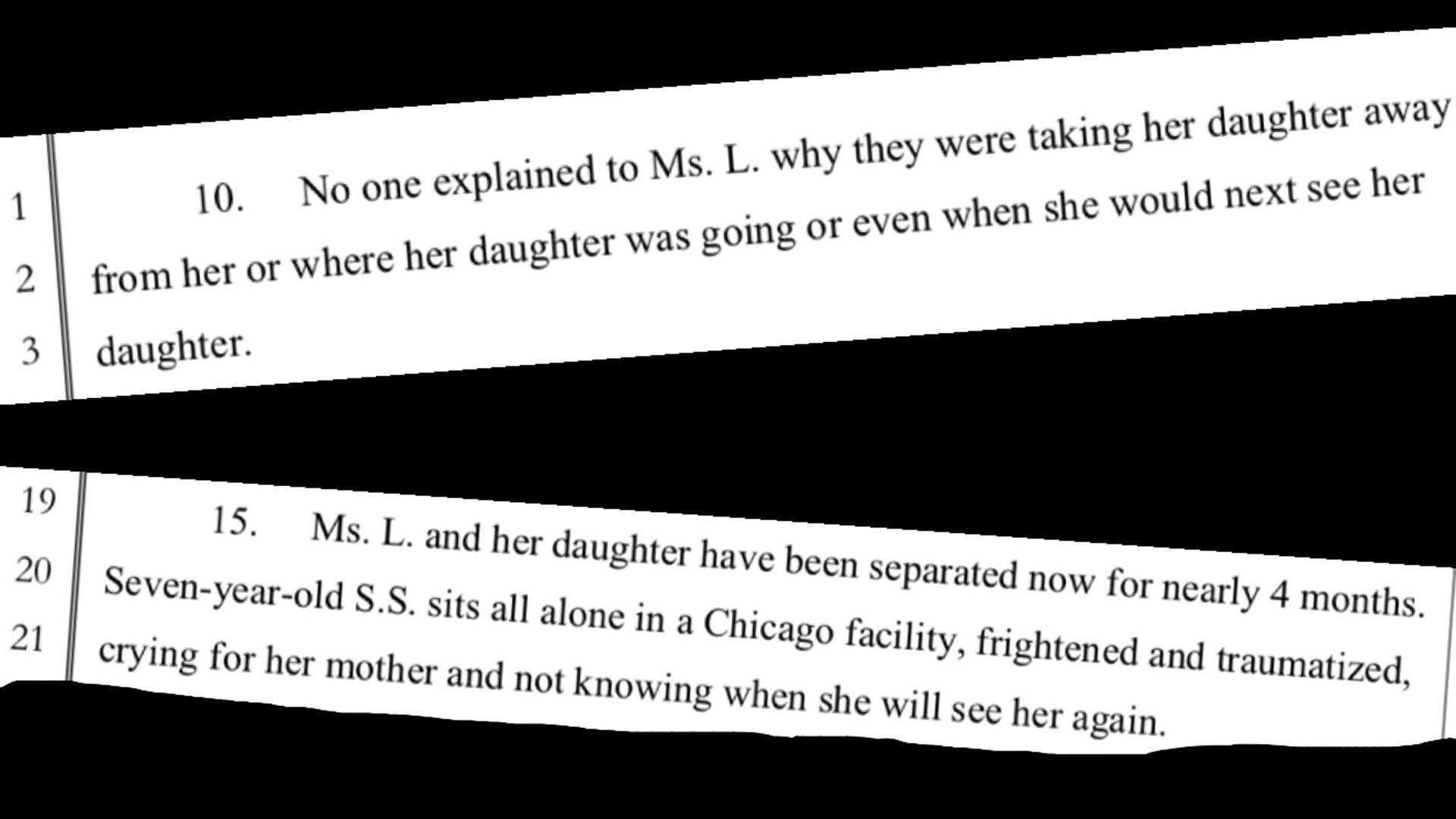 Illinois senators take on case of Congolese child in Chicago separated from her mom
