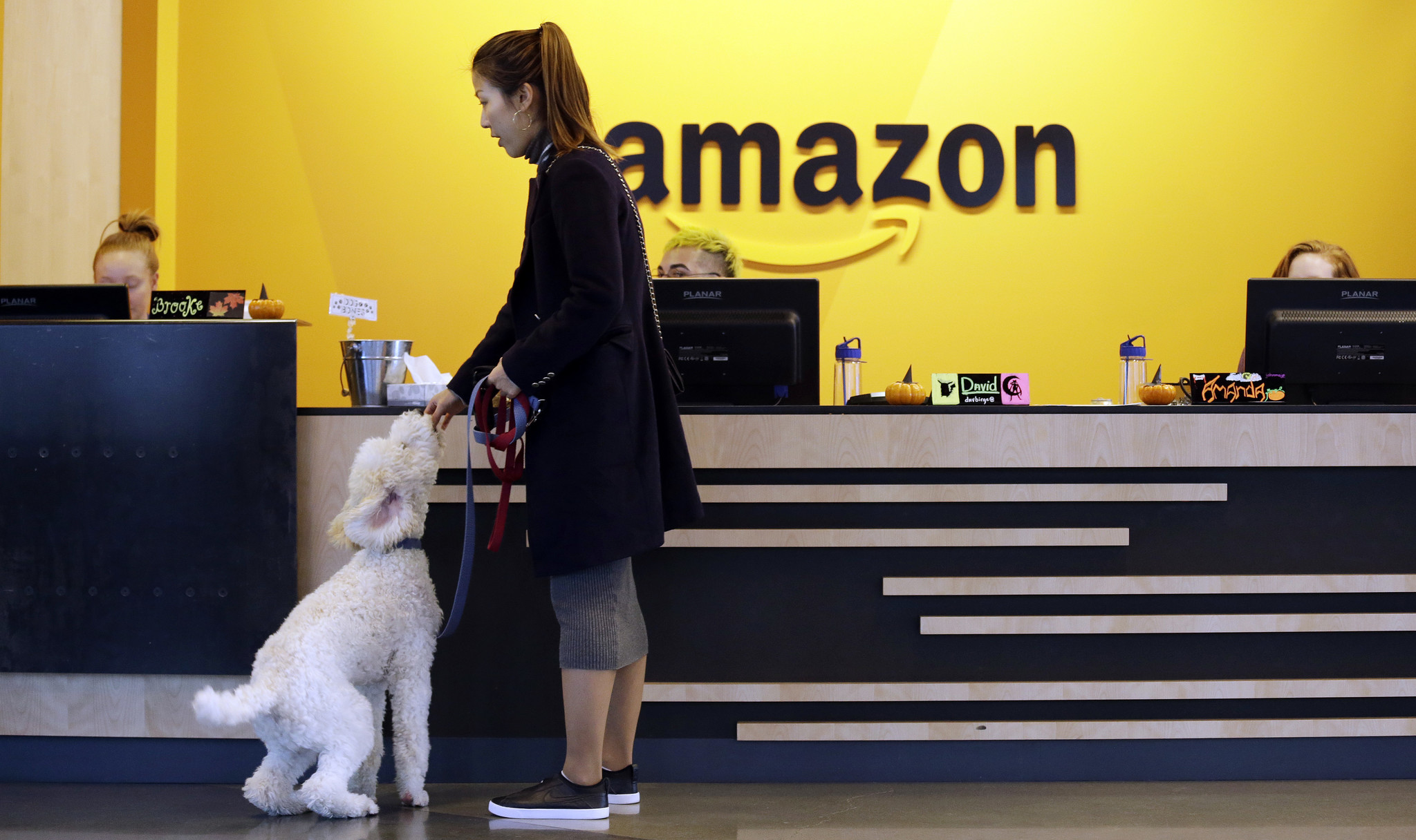 Amazon tours Washington, Maryland and Virginia in search for new headquarters