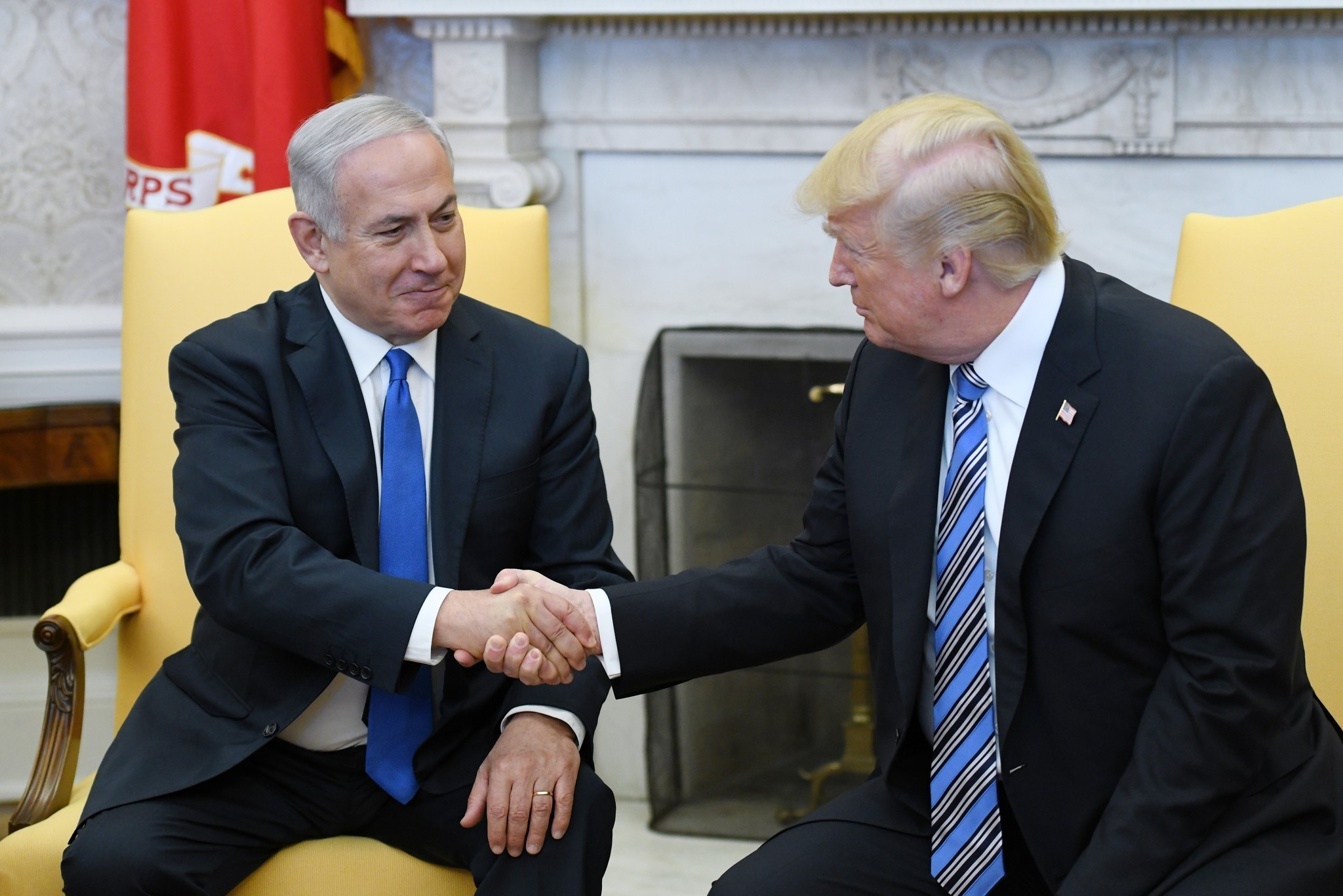Trump dangles Israel trip for new embassy, but quiet on peace plan