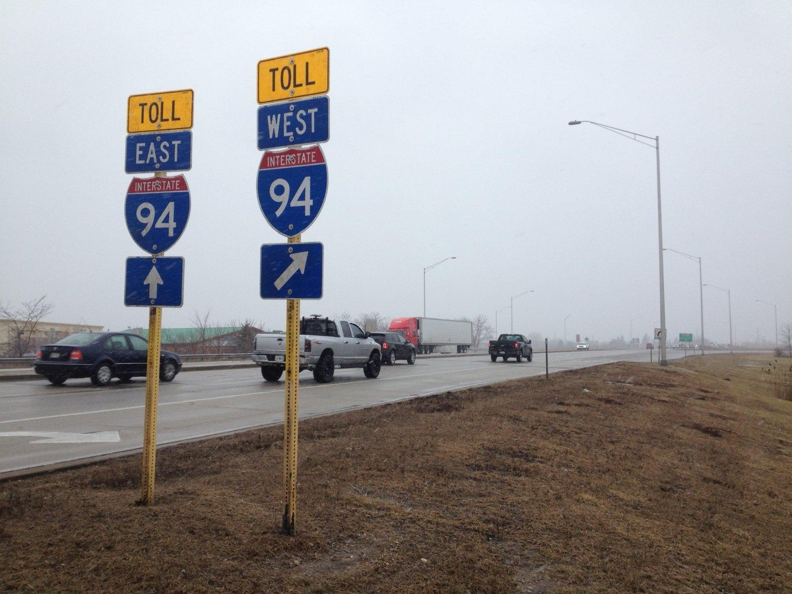 Lane closures start Friday on Tri-State Tollway through Lake County