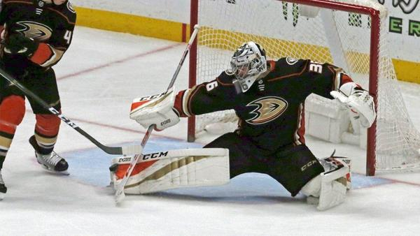 John Gibson Doesn't Give An Inch In Ducks' 4-0 Shutout Of Capitals