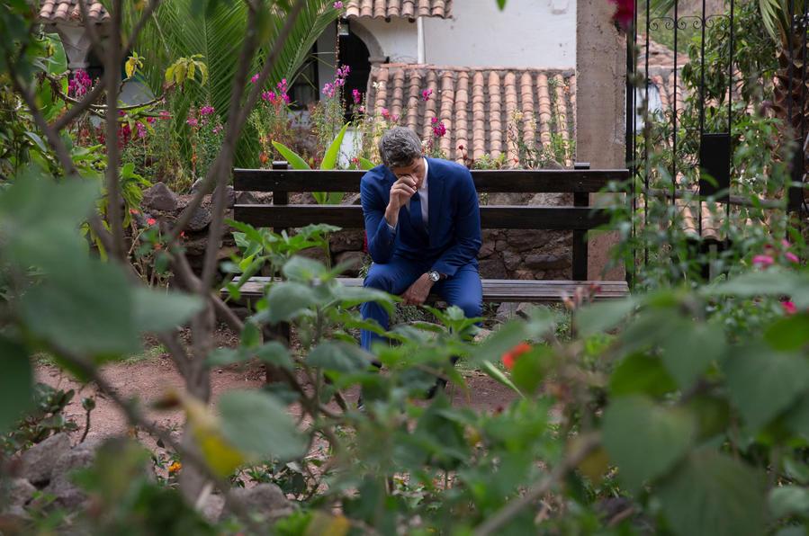 "Arie Luyendyk Jr. on ABC's ""The Bachelor."" (Paul Hebert / ABC)"