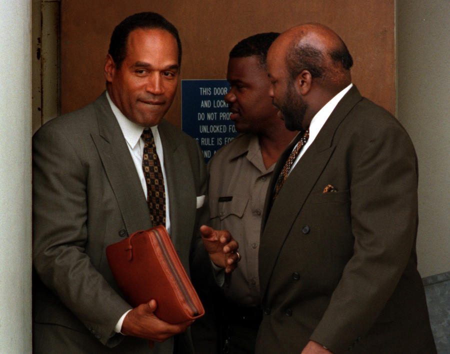 O.J. Simpson in 1997. (Carolyn Cole / Los Angeles Times)