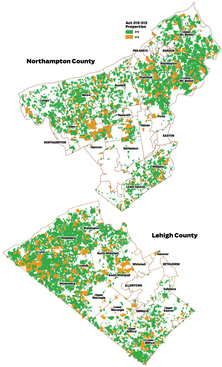 Map: Clean and Green in the Lehigh Valley