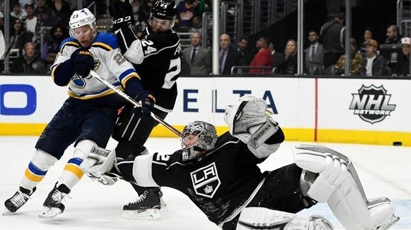 Kings Suffer Worst Defeat Of Season In 7-2 Loss To Blues