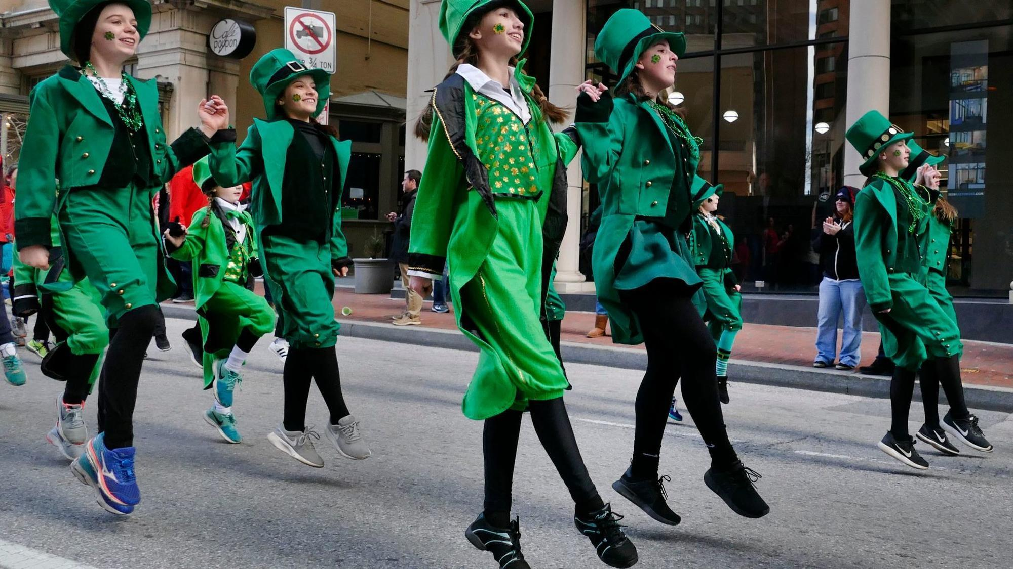 Baltimore's St. Patrick's Day Parade has (almost) everyone wearing green