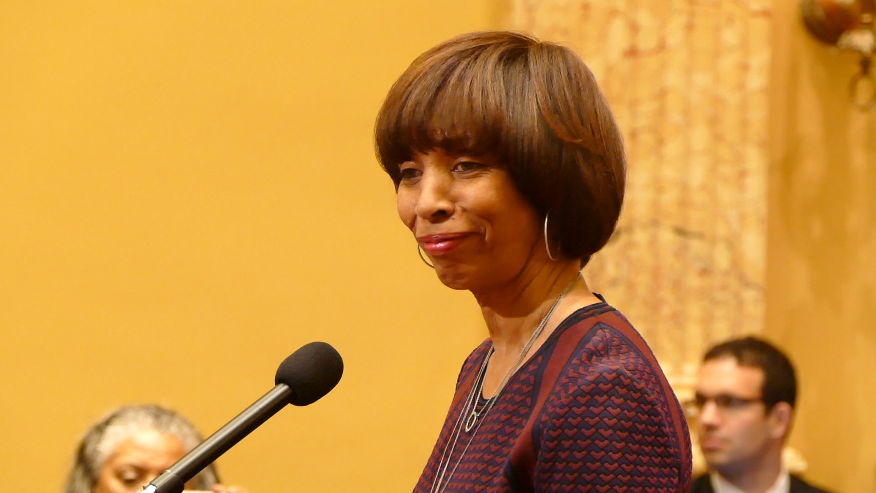 Mayor Catherine Pugh outlines efforts to make Baltimore a 'city on the rise' in second annual address