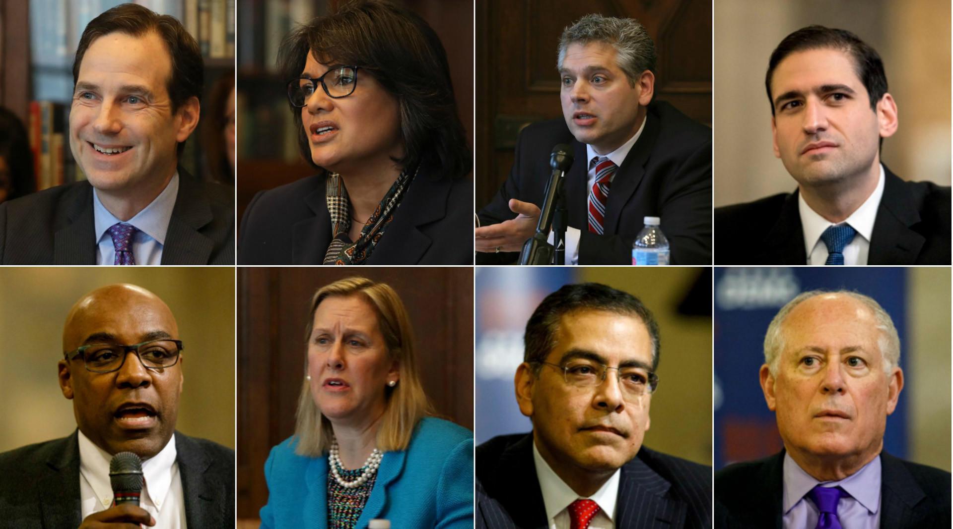 Democratic attorney general candidates rip Madigan, Berrios in final debate
