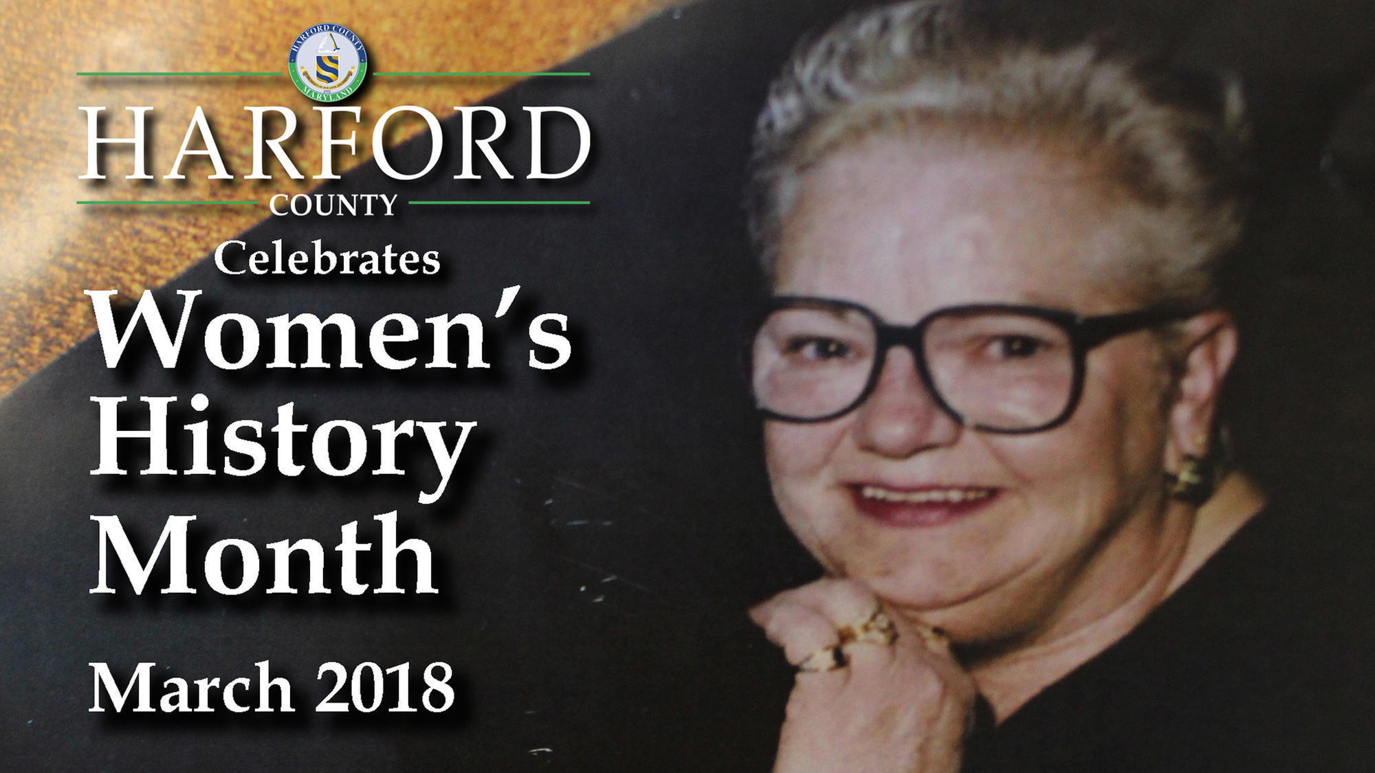Harford Women's History Month video honors the late Veronica 'Roni' Chenowith