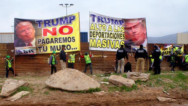 FOTOS: Contra el muro de Trump desde Tijuana