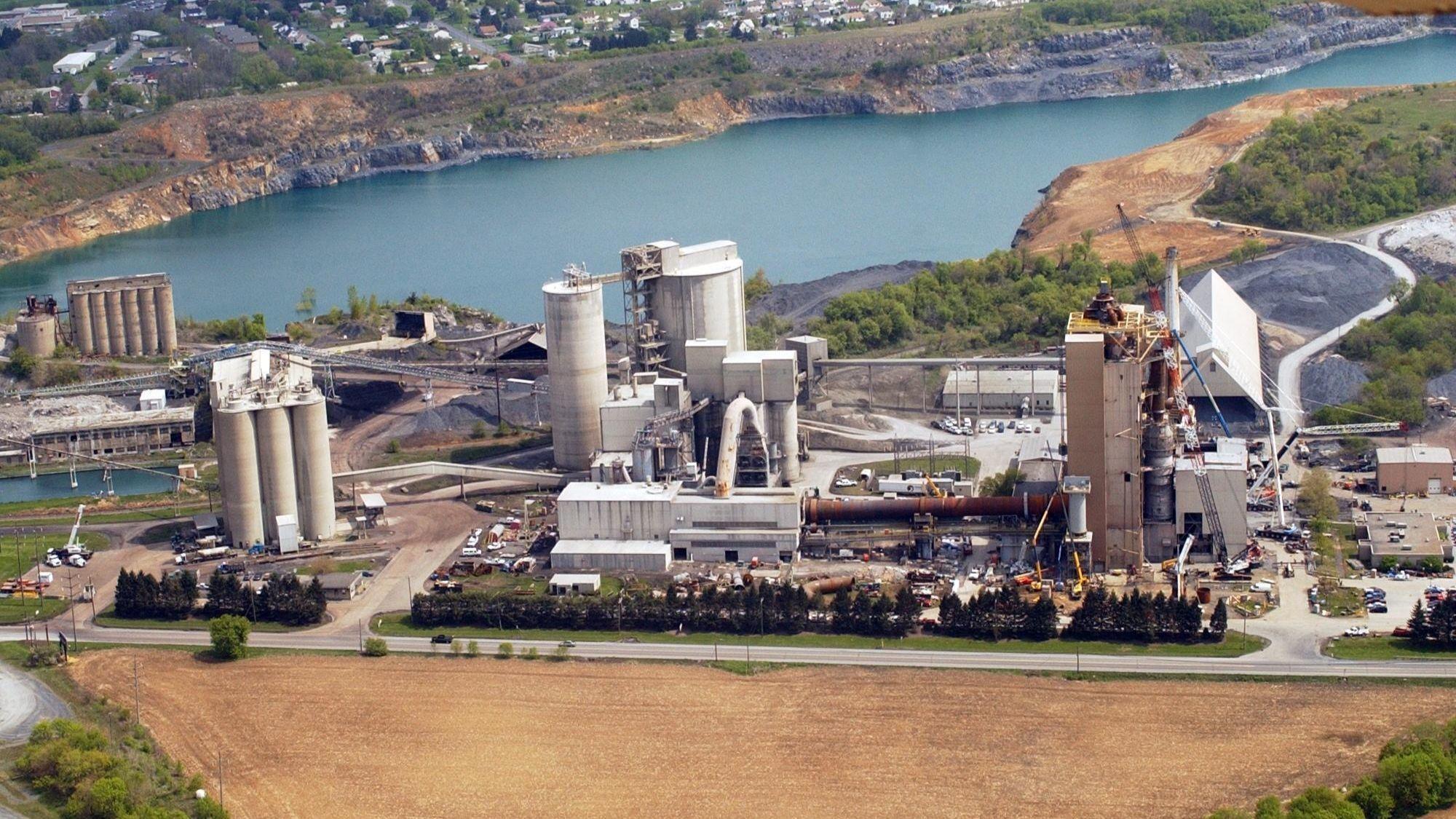 Essroc Cement plant