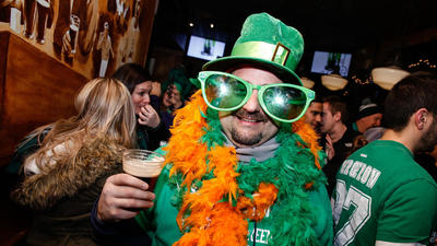 St. Patrick's Pub Crawls, Parties, Kegs & Eggs, Corned Beef And Beer