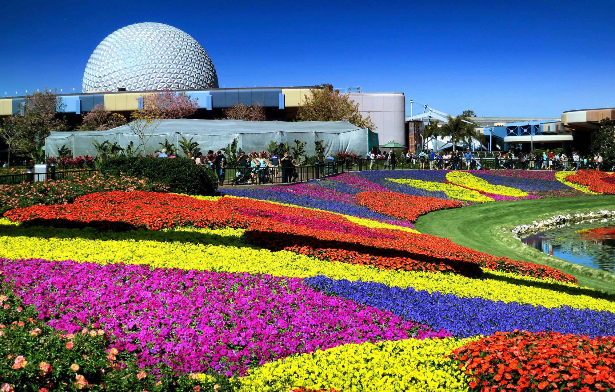 Strolling And Nibbling Through Epcot International Flower Garden Festival Orlando Sentinel