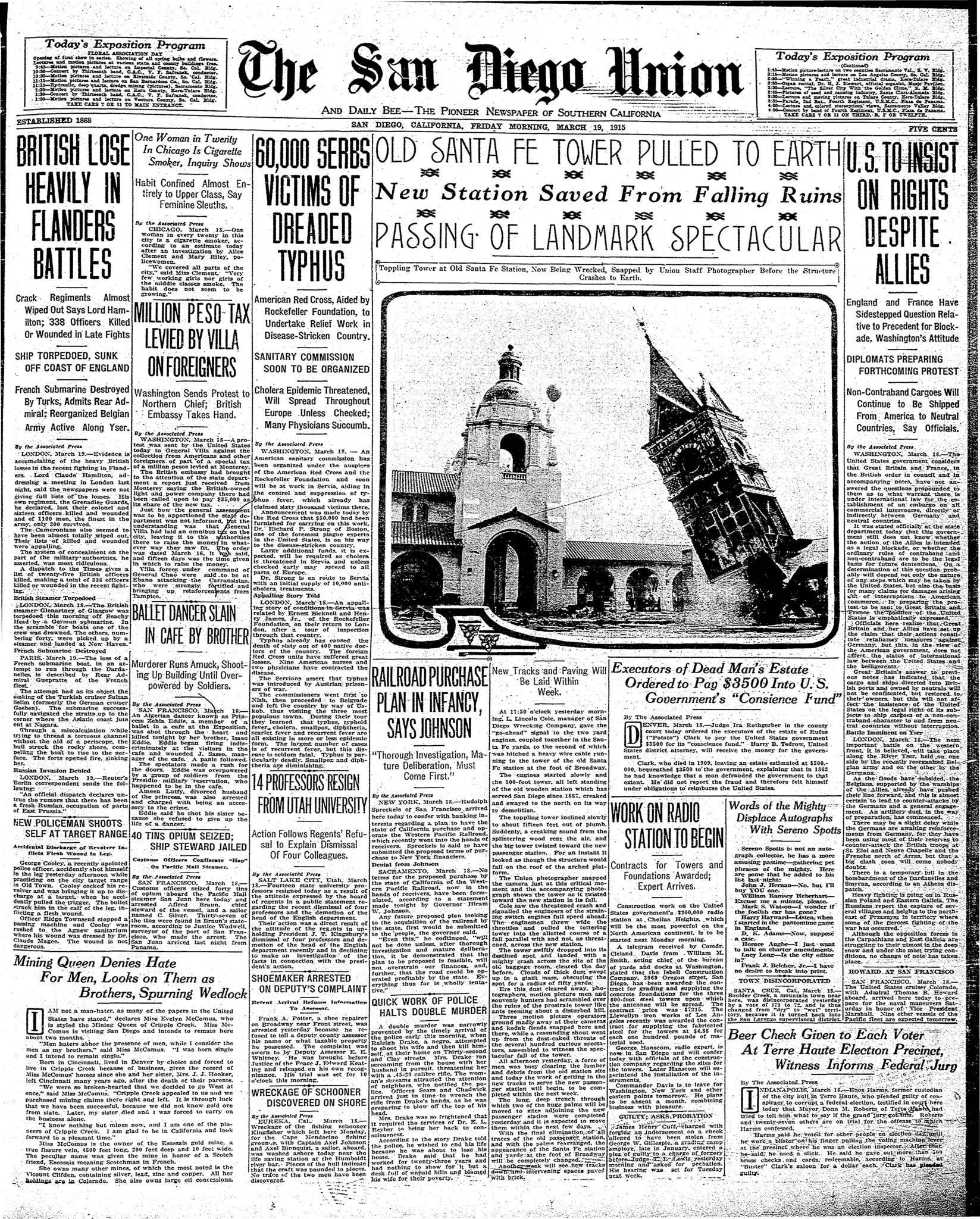 March 19, 1915