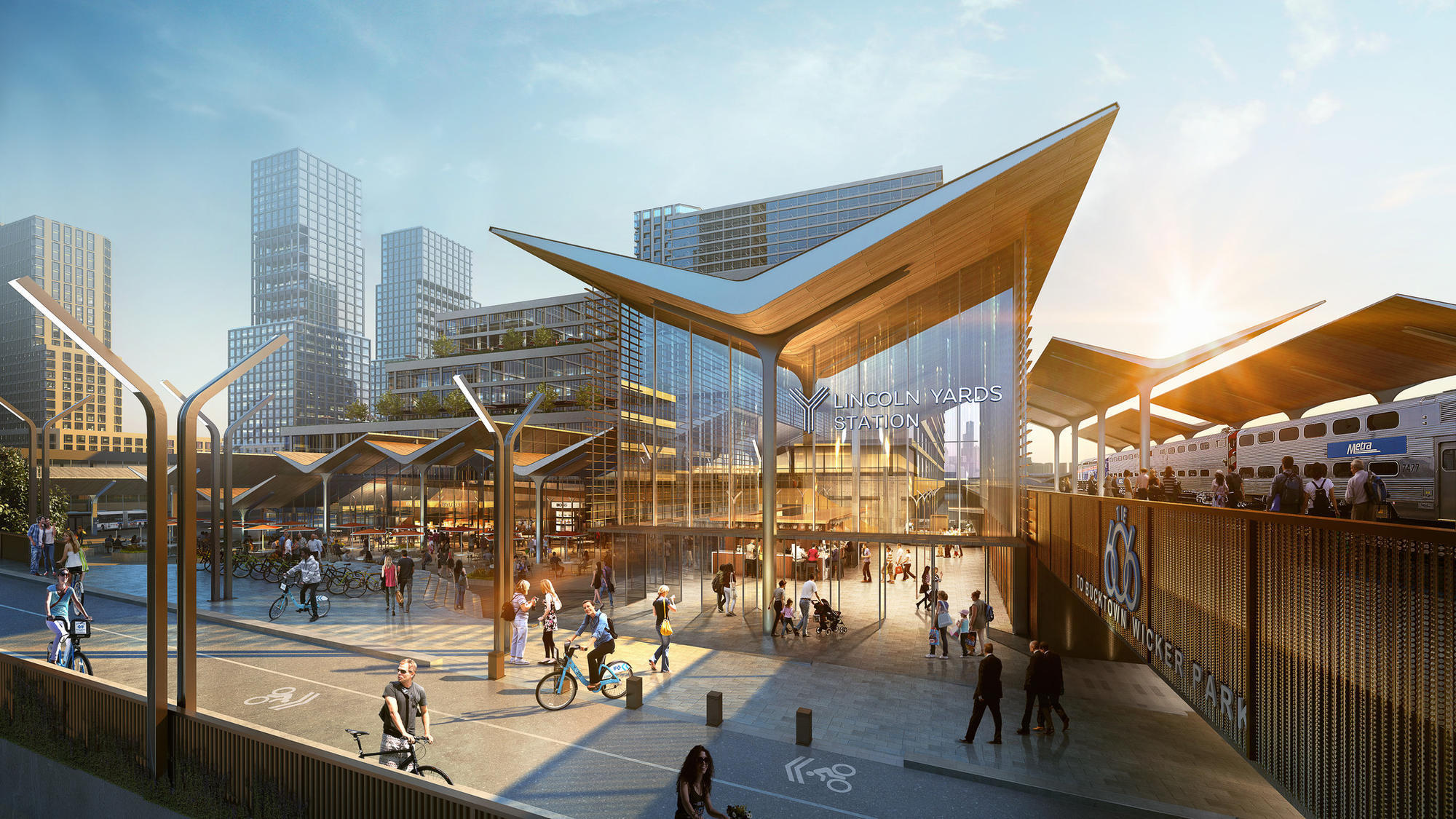 Latest Plans For Lincoln Yards Development On North Side