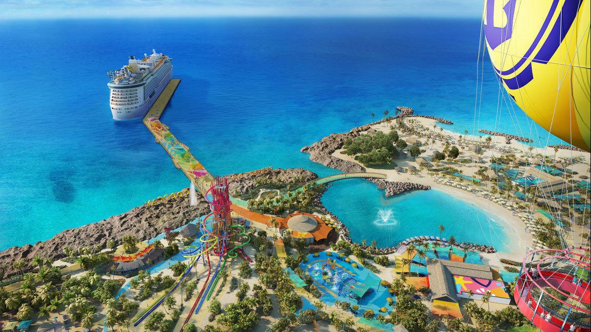 Royal Caribbean To Give Private Bahamas Island Massive
