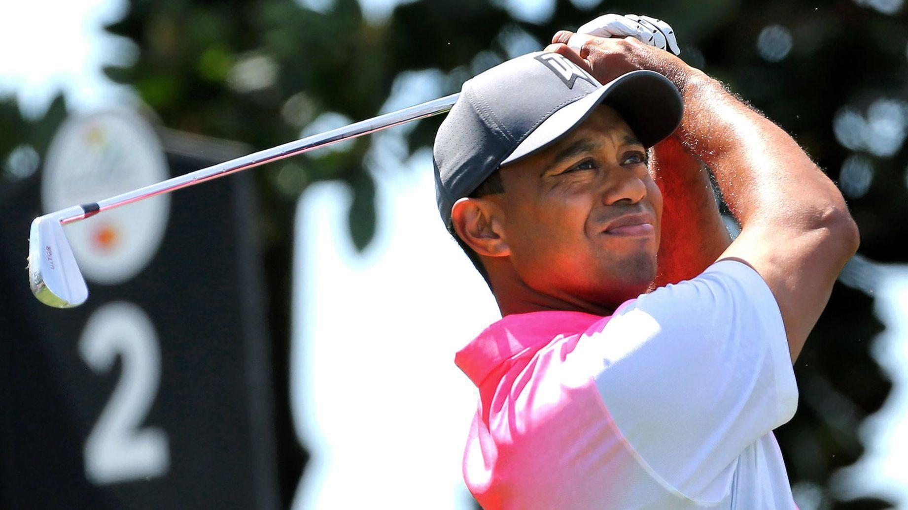 Live Updates: Tiger Woods plays his second round at the Arnold Palmer Invitational