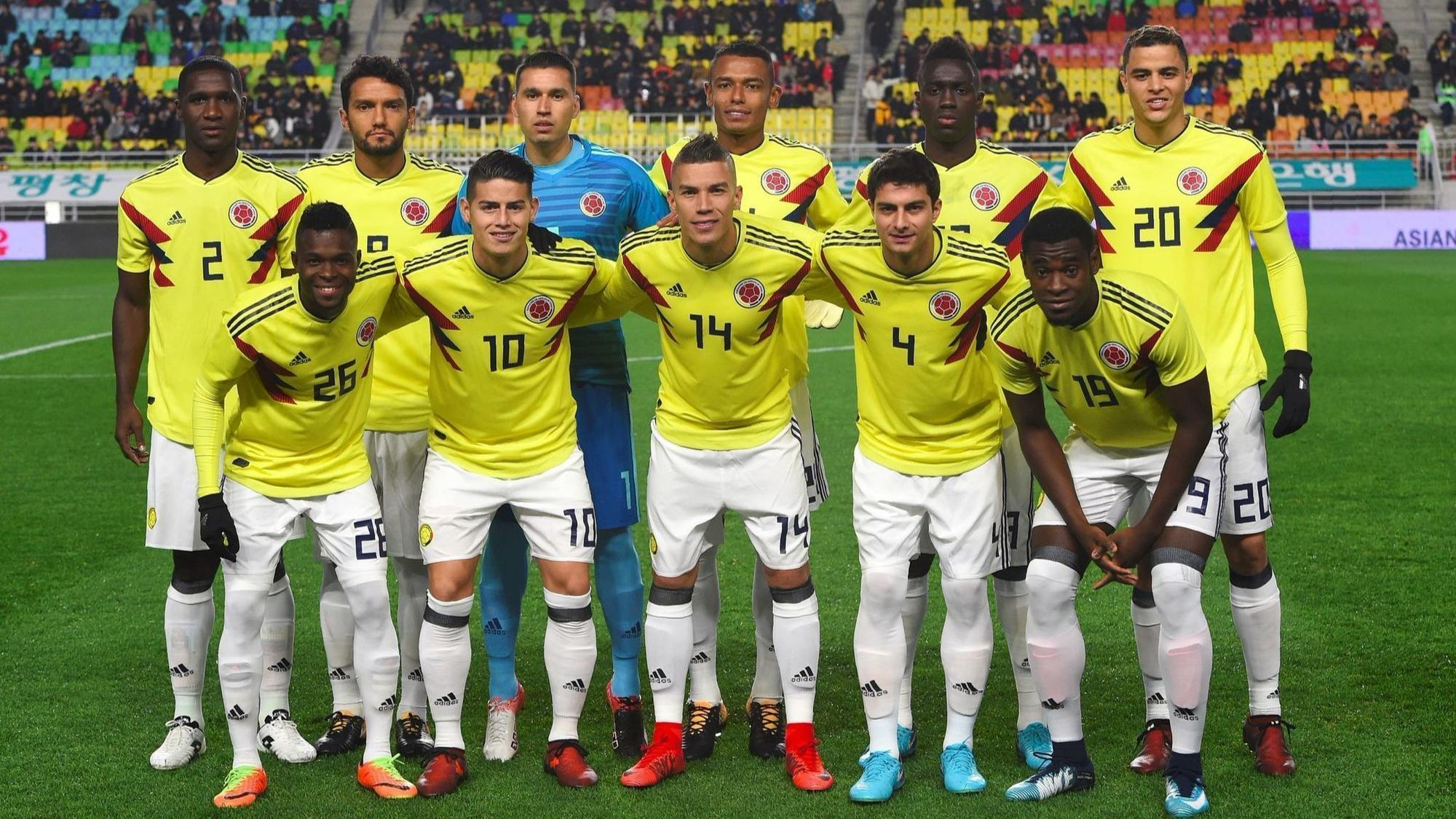 France squad  Colombia for headline Falcao Rodriguez,