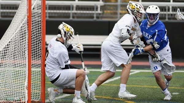 Turnovers contribute to No. 20 Towson men's lacrosse team's 10-8 loss to No. 3 Duke