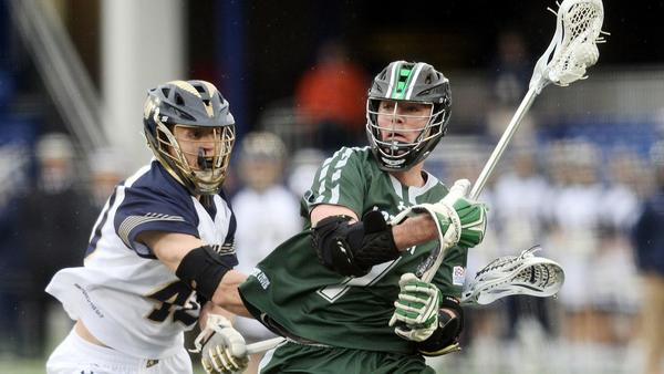 Spencer equals school record with 12 points as No. 8 Loyola handles Navy, 15-9