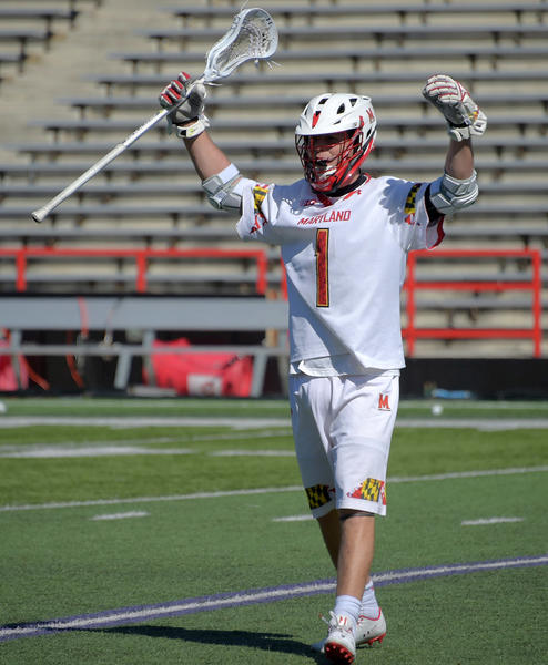 State college lacrosse roundup (March 17): Connor Kelly nets 100th career goals as Maryland tops Villanova