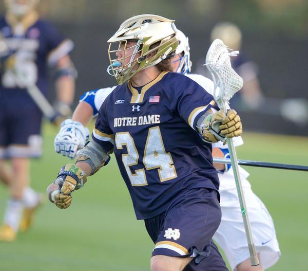 College lacrosse roundup (March 17): St. Paul's grad Wynne sends Irish past Virginia