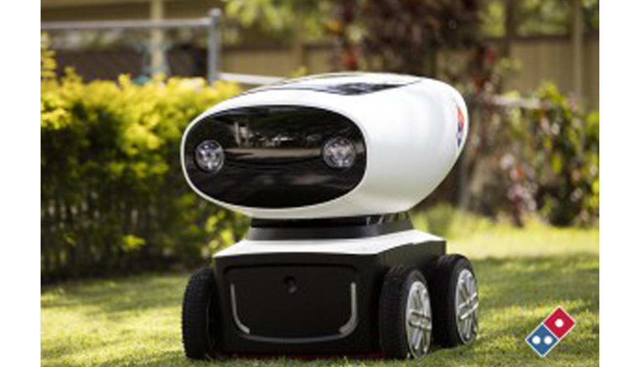 Robot rides are going to deliver pizza and parcels before people