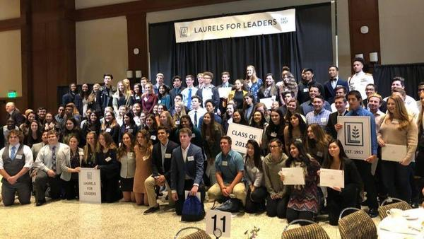 County's ASB leaders honored at SDSU luncheon