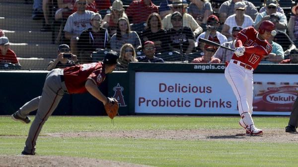 Angels rally in ninth inning, beat Diamondbacks 6-5