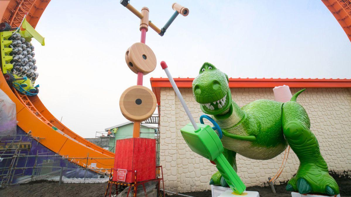 Disney's power of Pixar: 'Wonderful worlds' like Toy Story Land draw on films