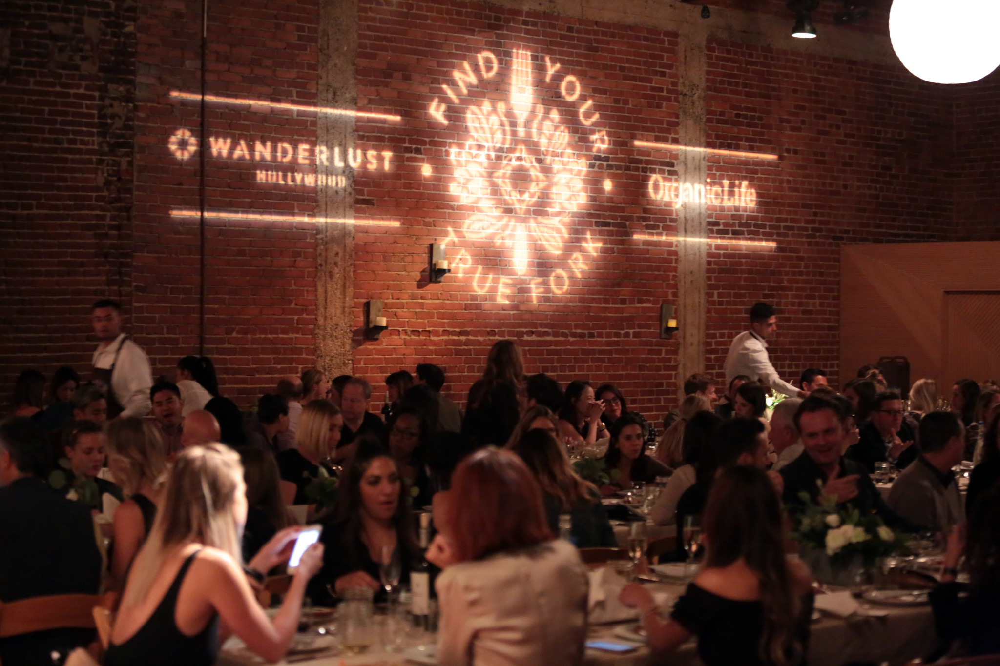 Wanderlust's Find Your True Fork Dinner. Credit: Elli Lauren / Wanderlust Hollywood