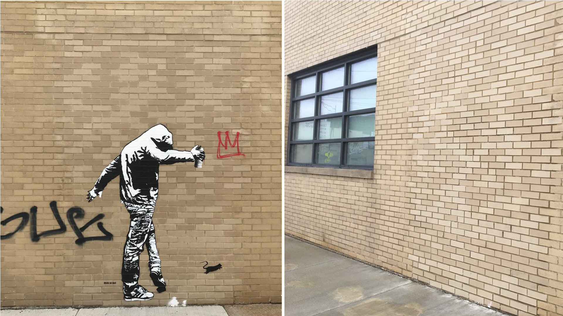 Graffiti cleanup 'blitz' ahead of Amazon visit wipes out street art at Cards Against Humanity HQ