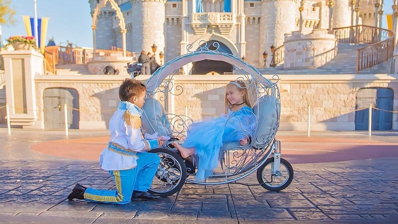 High End Strollers >> Disney vendor rents princess carriage strollers for up to $300 a day - Orlando Sentinel