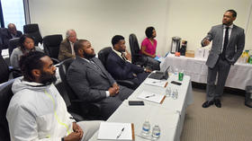 For Ravens in the Players Coalition, helping the city starts with listening and learning