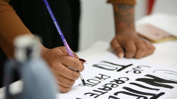 Video: The art of protest signs | Los Angeles Times