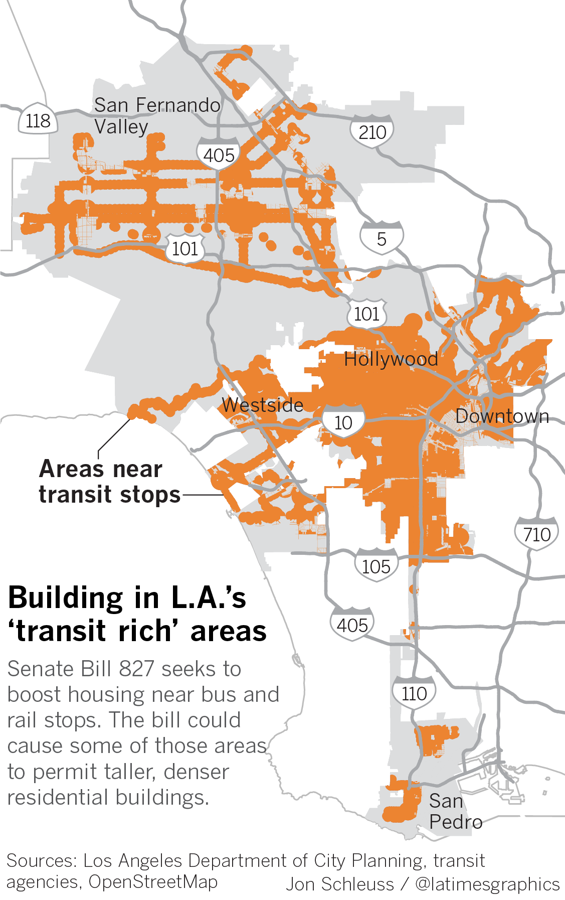 Plan To Dramatically Increase Development Would Transform Some L A