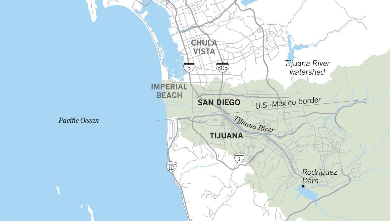 Tijuana sewage spills have been an environmental problem for decades
