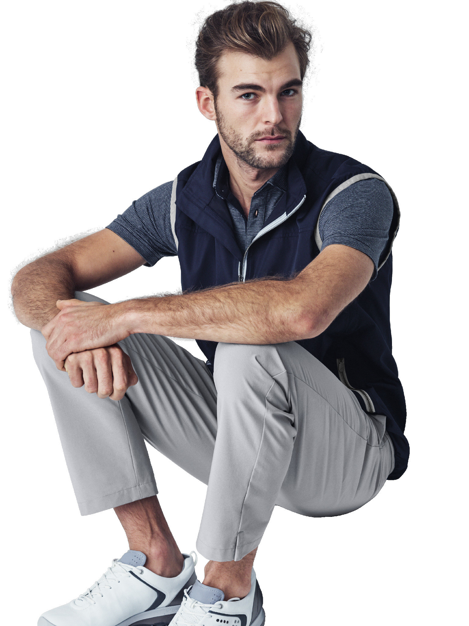 Made-to-measure golf/athletic wear from J.Hilburn.