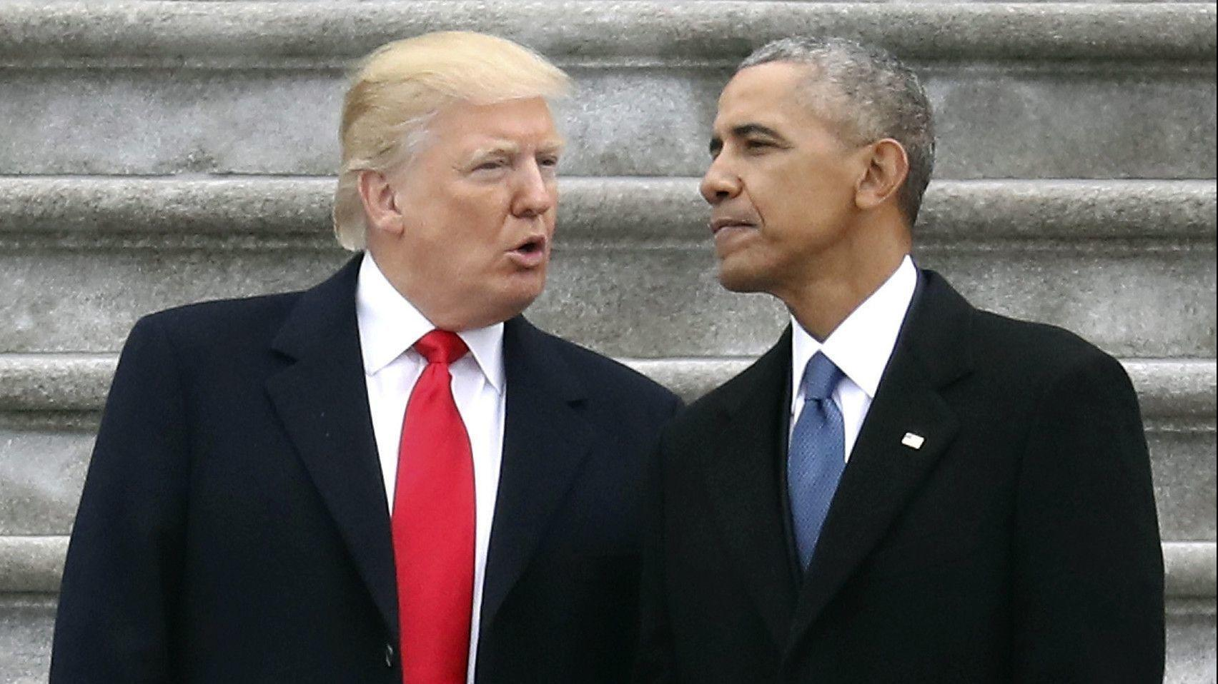 In the face of Trumps attacks Obama and other expresidents remain silent