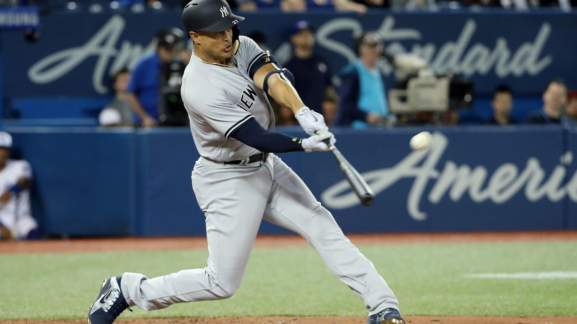 Image result for giancarlo stanton yankees