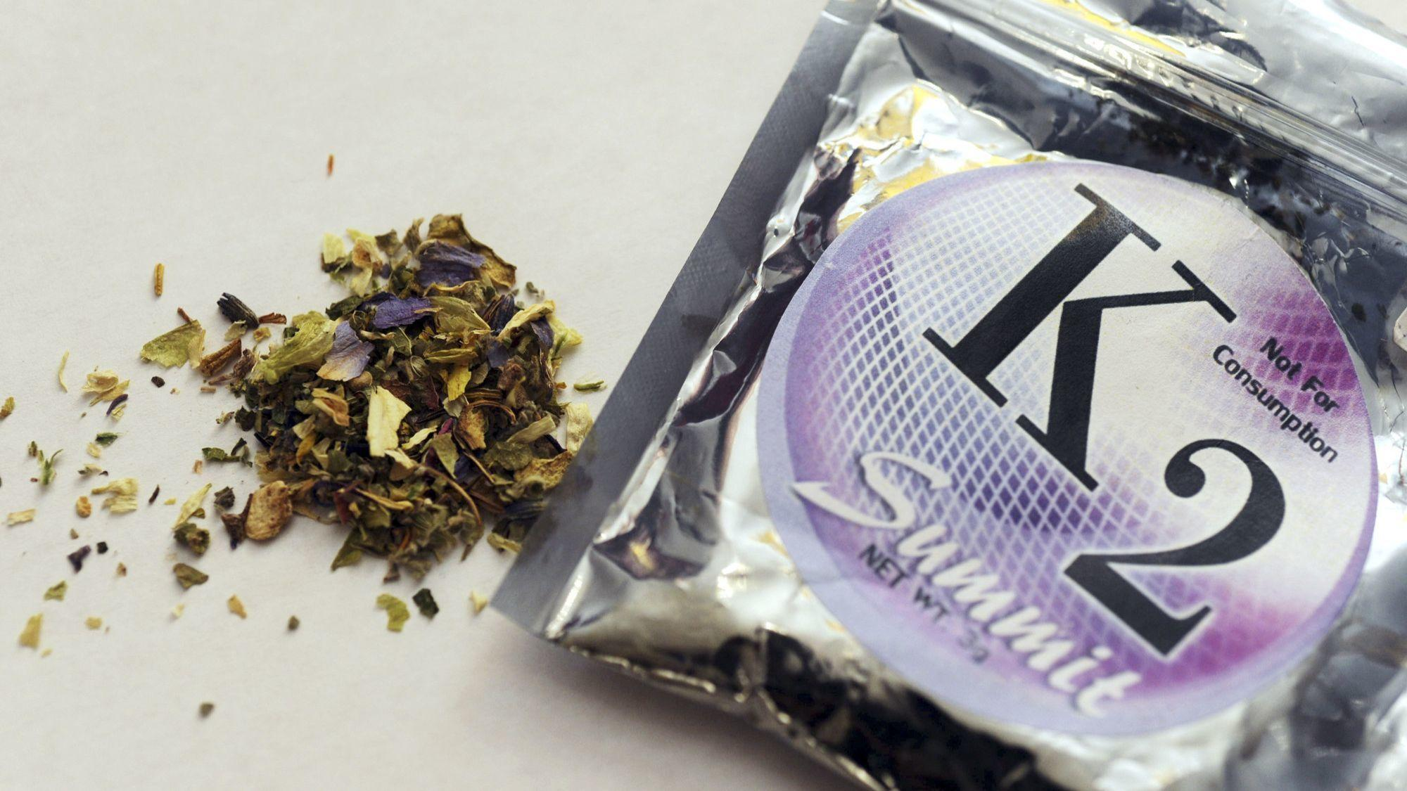 Synthetic pot warning as people bleed from eyes ears