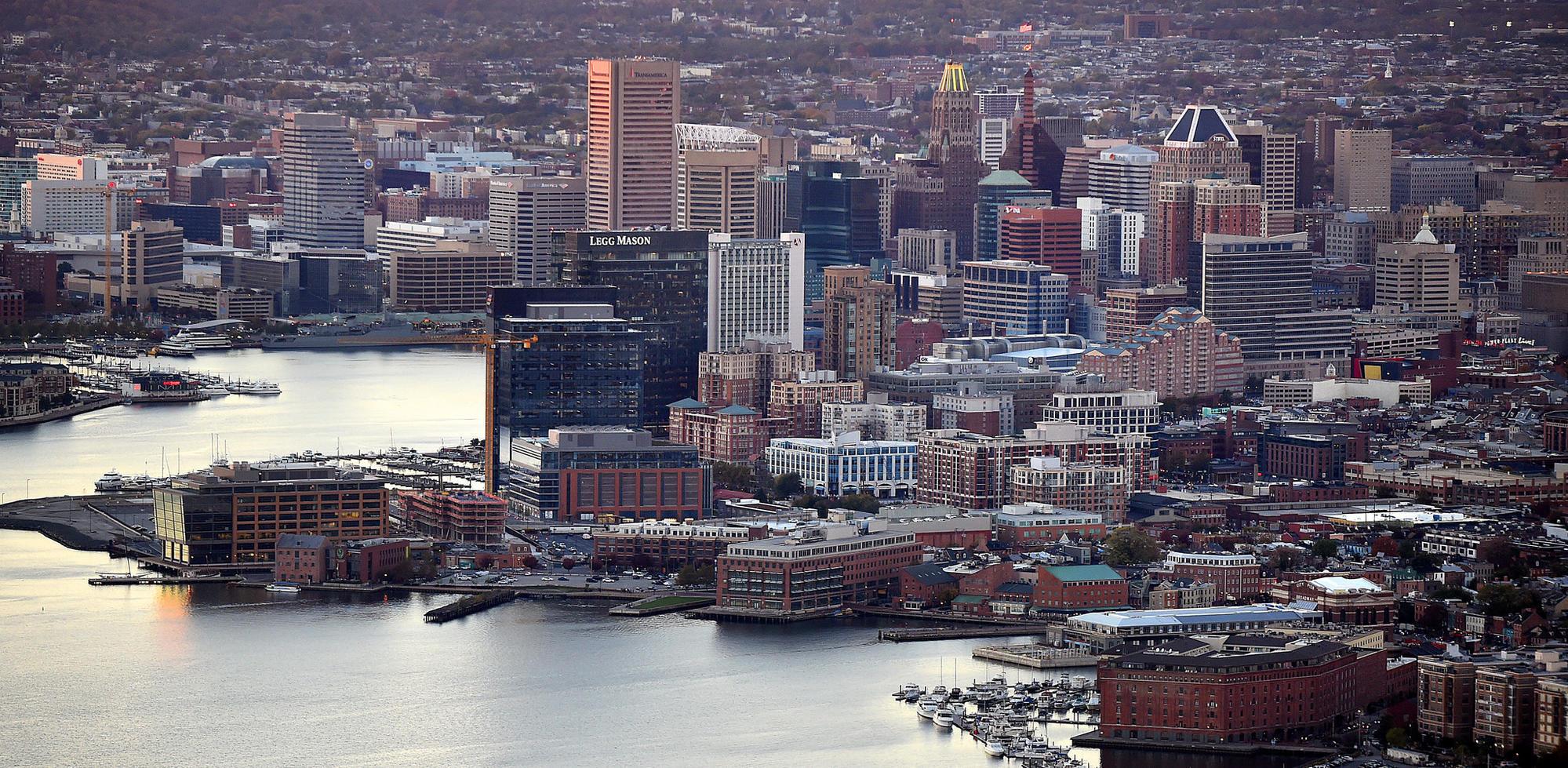 Baltimore exodus as homicides soar