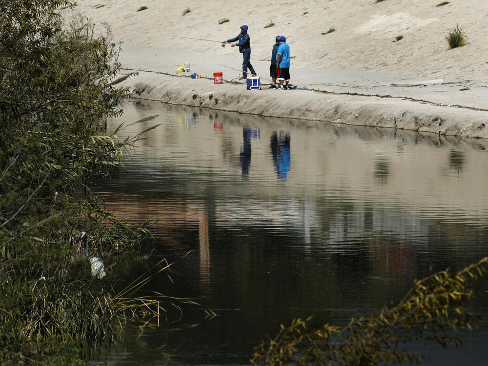 What role should the l a river play in a future los for Lake fishing near los angeles