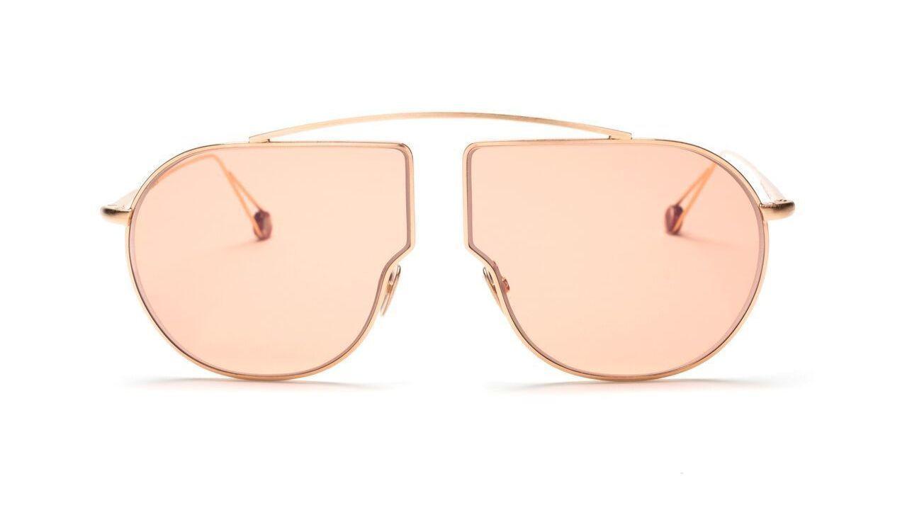Ahlem Petit Pont Rose Gold sunglasses