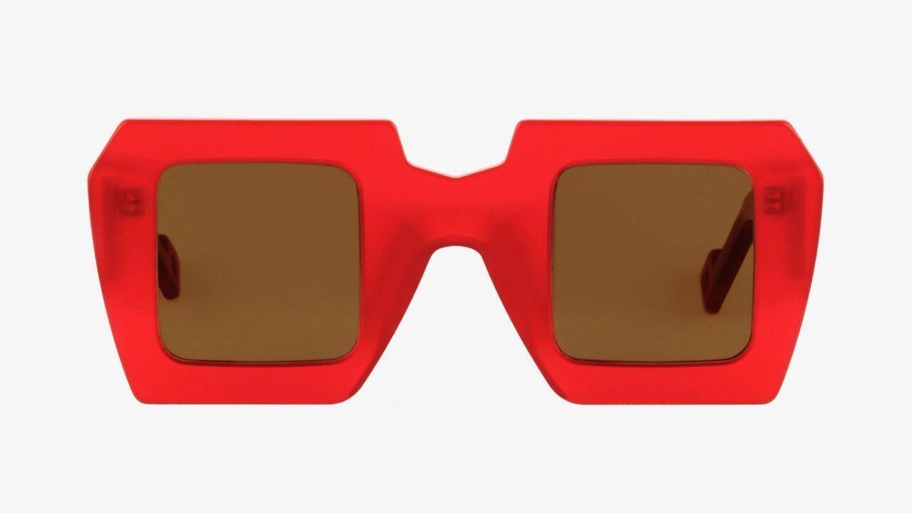 Pawaka Tiga 3 Sunglasses in Lucid Red.