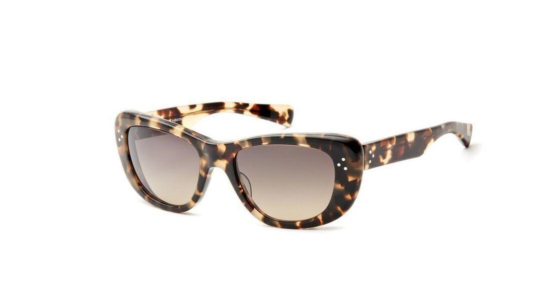 Salt Grace Sunglasses in Blonde Havana